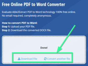 Easy steps to PDF to world converter