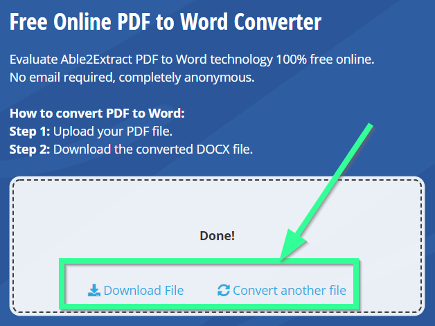 100 free download pdf to excel converter
